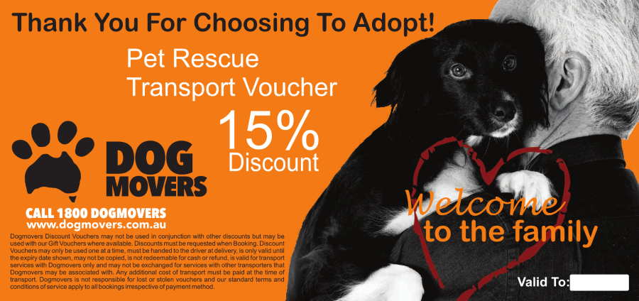 Pet Rescue 15% Discount Voucher